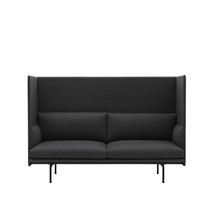 MUUTO Outline Highback 2. pers. Sofa