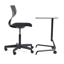 HOLMRIS B8 Cobra Single Table Skolebord. L:58,1 cm.